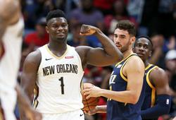 New Orleans Pelicans không ngừng thăng hoa, Zion Williamson tiếp tục viết nên lịch sử