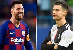 Tổng số bàn thắng của Messi và Ronaldo hiện tại là bao nhiêu?
