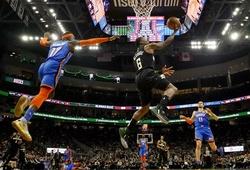 Kết quả NBA ngày 29/2: Bucks đại thắng Thunder