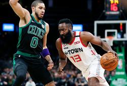 """Westbrook """"gánh team"""", Harden xuất hiện đúng lúc, Rockets vượt Celtics trong OT nghẹt thở"""