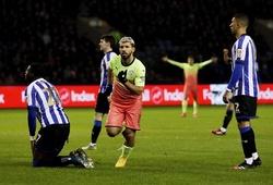 Aguero trở thành vua ghi bàn Manchester sau khi vượt qua Rooney
