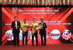 Hồng Lĩnh Hà Tĩnh đặt mục tiêu trụ hạng ở V.League 2020