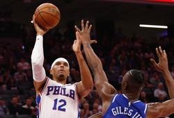 Bứt tốc 5 phút cuối, Philadelphia 76ers chấm dứt chuỗi thua sân khách