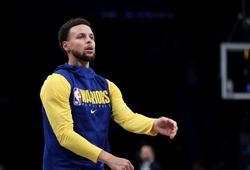 Steph Curry không được chơi quá 30 phút trước Toronto Raptors