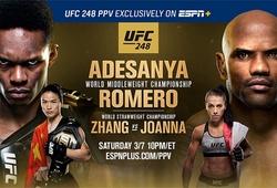 UFC 248: Israel Adesanya thắng điểm Yoel Romero đầy tranh cãi