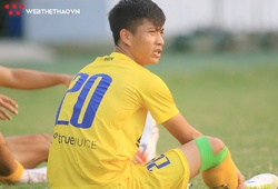 Xuân Mạnh chấn thương, Văn Đức băng kín gối trước trận SLNA gặp Sài Gòn FC