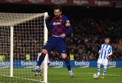 Messi vượt Ronaldo trở thành chân sút vĩ đại nhất châu Âu