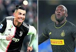 Ronaldo xếp sau Lukaku về khả năng dứt điểm hoàn thiện tại Serie A