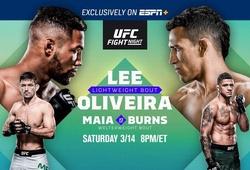 UFC Brasilia gây hoang mang vì không xét nghiệm Covid-19 cho võ sĩ