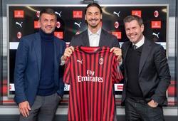 Zlatan Ibrahimovic khó ở lại AC Milan nếu Paolo Maldini rời đi