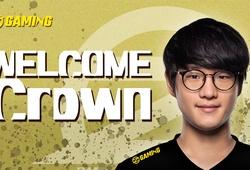 Crown chính thức có bến đỗ mới: OZ Gaming