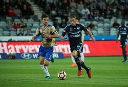 Trực tiếp Newcastle Jets vs Melbourne City: Khách lấn chủ