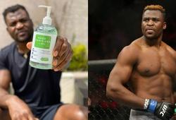 Bị hủy đấu, Francis Ngannou chuyển sang... quảng cáo nước rửa tay