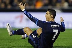 """Ronaldo từng nổi giận thế nào với sân bóng như """"mặt ruộng"""" của Valencia?"""