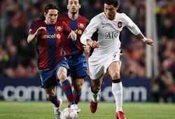 Ronaldo suýt trở thành đồng đội của Messi ở... Barca