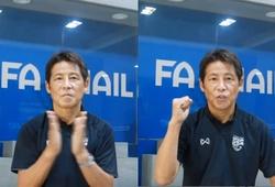 Chấp nhận giảm lương, HLV Nishino kêu gọi NHM Thái Lan chống lại COVID-19