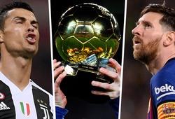 Messi và Ronaldo có tổng cộng bao nhiêu Quả bóng vàng?
