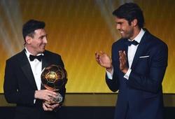 Messi được cựu Quả bóng vàng ví là thiên tài bóng đá