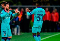 Sao trẻ thừa kế ngai vàng của Messi ở Barca xuất sắc thế nào?