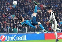 Tròn 2 năm Ronaldo ghi bàn bằng cú xe đạp chổng ngược kinh điển