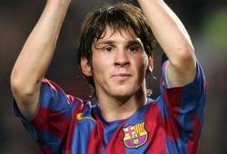 Messi ghi bao nhiêu bàn trong 4 mùa đầu đá cho đội một Barca?