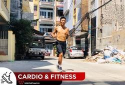 Thử thách bản thân mùa COVID-19, ông bố chạy marathon từ nhà ra ngõ trong sự kinh ngạc của hàng xóm
