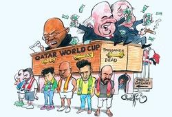 """Bộ Tư pháp Mỹ nói Nga và Qatar bỏ tiền """"mua"""" quyền đăng cai World Cup"""