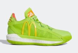 """Adidas hợp tác với McDonald's ra mắt mẫu giày Dame 6 """"Dame Sauce"""""""