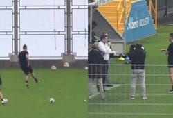 Ronaldo thuê một biệt thự sang trọng để tập luyện ở quê nhà