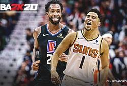 Tứ kết NBA 2K Players Tournament: Devin Booker thể hiện phong độ hủy diệt