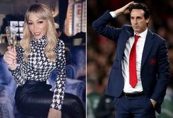 HLV Unai Emery đổ lỗi cho người yêu khi bị Arsenal sa thải