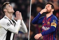 Ronaldo và Messi góp mặt Top 10 cầu thủ ghi nhiều bàn thắng nhất lịch sử thế giới