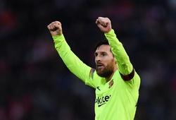 """Messi gây kinh ngạc về số lần đoạt giải thưởng """"xuất sắc nhất trận"""""""