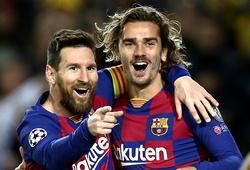 Messi và Griezmann vô đối về bàn thắng bằng chân trái tại La Liga