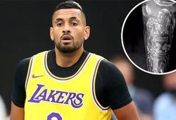 Nick Kyrgios khoe hình xăm tưởng nhớ Kobe Bryant