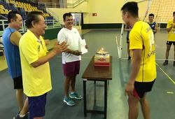 Sinh nhật ấm áp của cựu chủ công Lê Hồng Hảo cùng các học trò