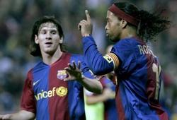 """Cặp tiền đạo """"vô danh"""" ghi nhiều bàn bằng Messi và Ronaldinho"""