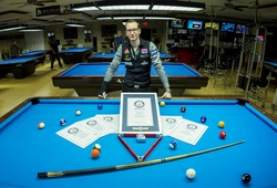 """Cùng xem cơ thủ billiards Florian Kohler cố gắng lập kỷ lục Guinness về """"số cú đánh biểu diễn nhiều nhất trong 24h"""""""