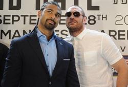 David Haye khuyên Tyson Fury không nên quá tự tin