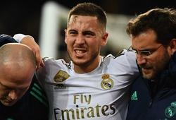 Eden Hazard vẫn được định giá cao nhất Real Madrid dù liên tục chấn thương