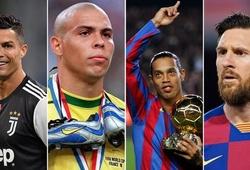 """Ronaldo và Ronaldinho """"phán quyết"""" về Messi và Cristiano Ronaldo"""