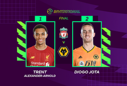 Diogo Jota giúp Wolves đánh bại Liverpool ở chung kết giải FIFA 20 Premier League 