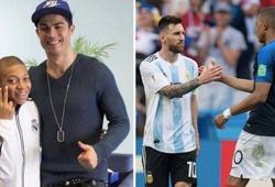 Mbappe gây bất ngờ khi chọn Messi và Ronaldo trong đội bóng của mình