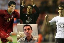 Ronaldo chuyển đổi từ cậu bé gầy gò sang võ sĩ hạng trung qua một đêm
