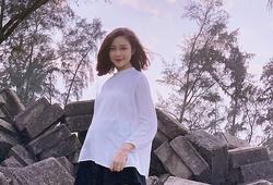 Vẻ đẹp không tỳ vết của vợ Phan Văn Đức khi mang bầu