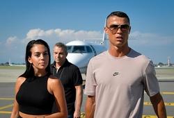Ronaldo cùng đoàn tùy tùng đã trở lại Italia và cách ly ngay lập tức