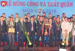 Báo Quảng Nam ca ngợi bầu Hiển của CLB Hà Nội