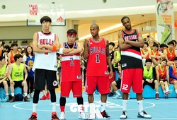 Lee Kwang Soo, HaHa, Jin Woon và những sao Hàn chơi bóng rổ cực đỉnh
