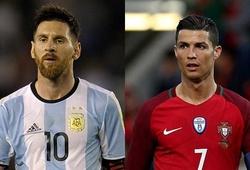Tổng số bàn thắng của Ronaldo và Messi trong lịch sử World Cup