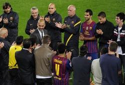 Tròn 8 năm Guardiola nói lời từ biệt Barca